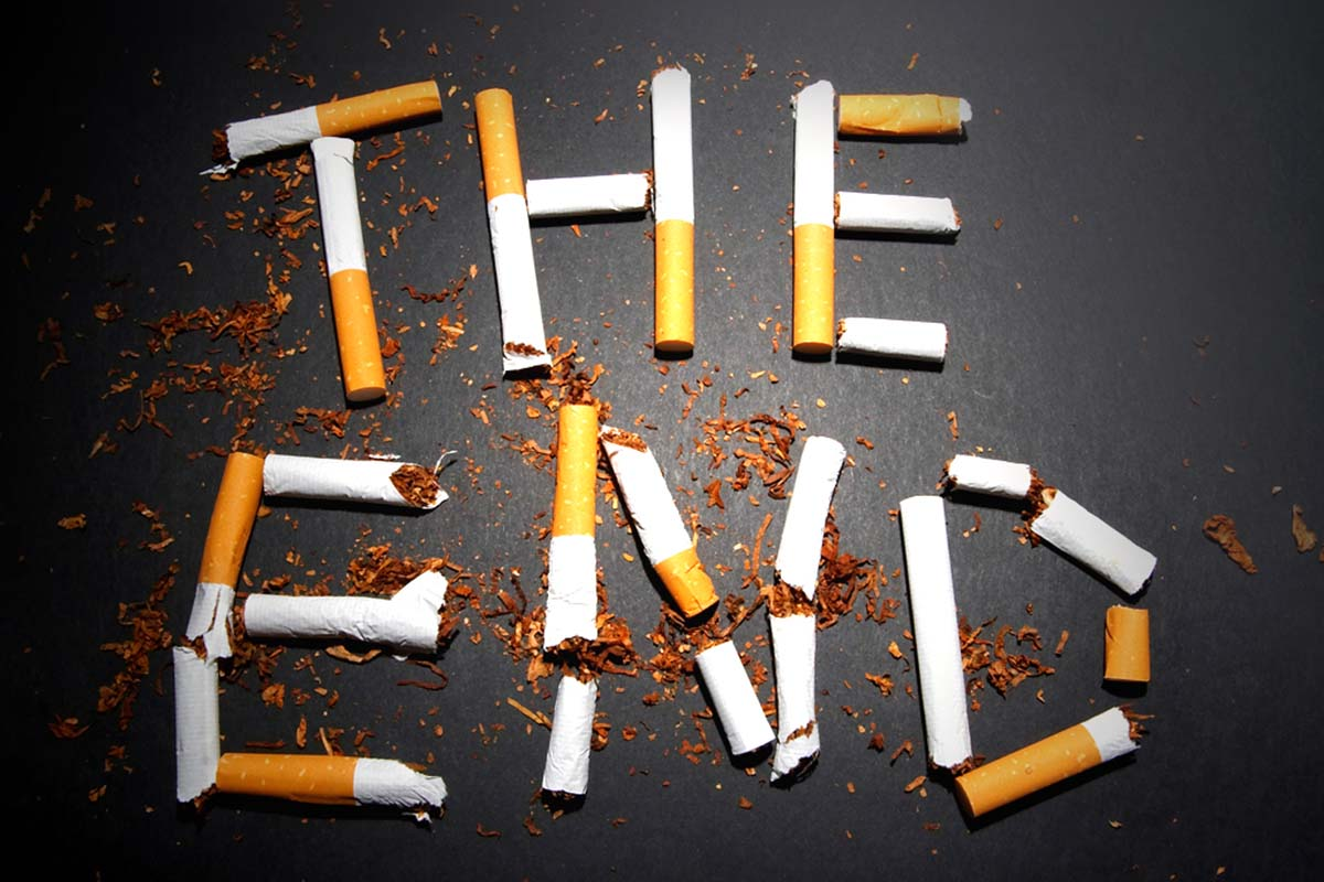 The number of individuals who smoke is dropping